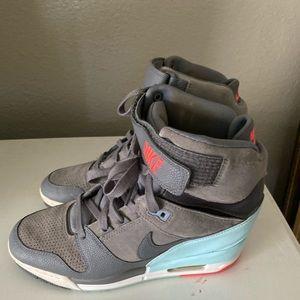 Nike Air Revolution Sky High wedge sneakers